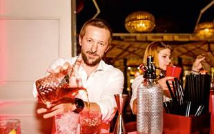 Barman Davide Fornasiera: Svojevrsten umetnik, ki osrečuje stranke