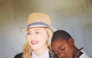 Madonna se zaradi sina seli na Portugalsko