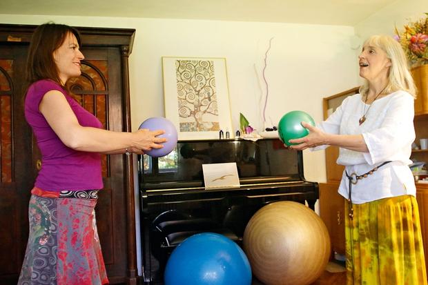 Mojka Žagar, učiteljica solopetja: Pomaga, da se človek razpoje (foto: Goran Antley)