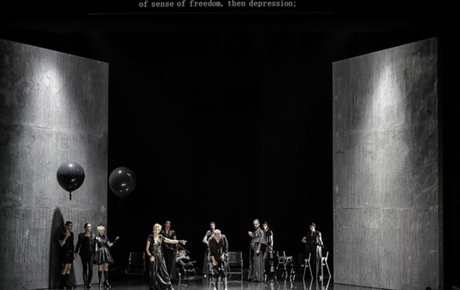 SNG Drama Ljubljana je prvo slovensko gledališče, ki gostuje na Kitajskem (foto: Aljoša Rebolj)