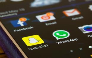 Snapchat izgublja v konkurenčnem boju s Facebookom