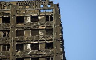 Pri preživeli deklici v požaru v londonski stolpnici ugotovili zastrupitev s cianidom