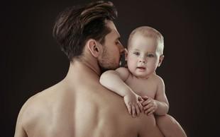 Lani več posvojitev in manj priznanj očetovstva
