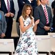 Ugibanja o nosečnosti Melanie Trump