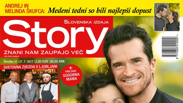 Andrej in Melinda Škufca si želita družino! Več v novi Story!