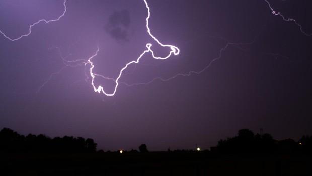 Kočevje: Divjala je supercelična nevihta! (foto: Profimedia)