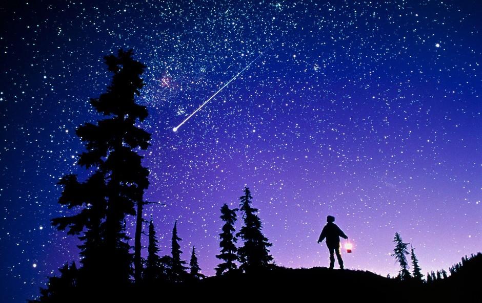 Najsvetlejši roj meteorjev bo letos motila Luna (foto: Profimedia)