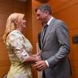 Hrvaška predsednica Kolinda Grabar-Kitarović v boj za še en mandat