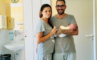 """Teja Perjet in Jani Jugovic: """"Moški poroda ne bi zmogli"""""""
