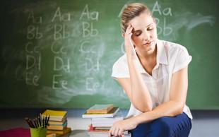 Novo šolsko leto in strah med učitelji