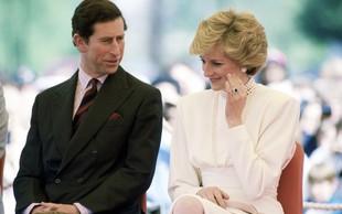 "Princesa Diana, ko je prvič videla Charlesa: ""Končno sem ga spoznala."""