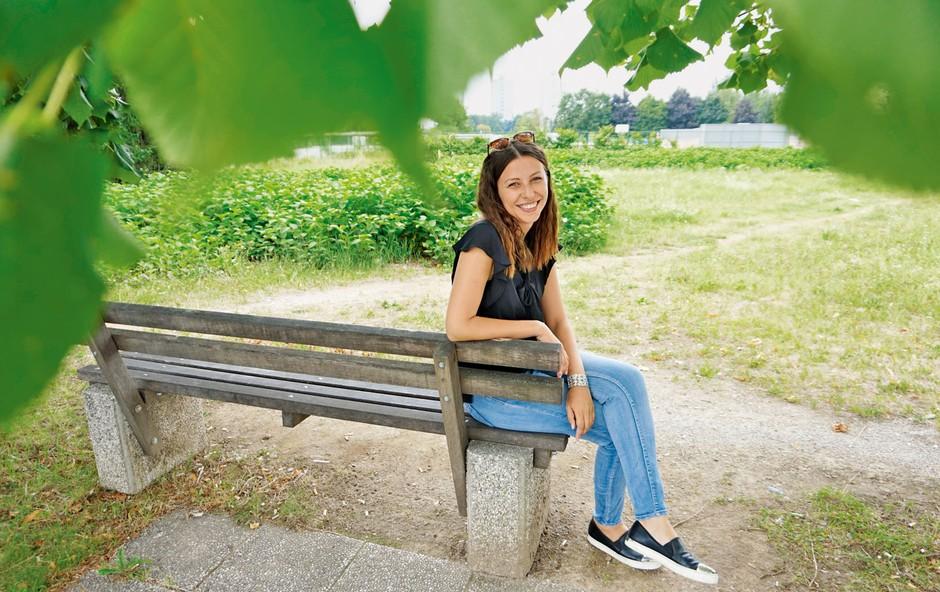 Irena Joveva: Ljubezen na televizijskih hodnikih (foto: Kaja Milanič)