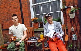 Marjan Krnjič in Jožef Sraka: Velike priprave na modni šov v Londonu