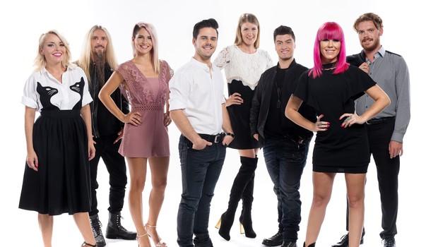 To so letošnji tekmovalci oddaje Znan obraz ima svoj glas (foto: POP TV)