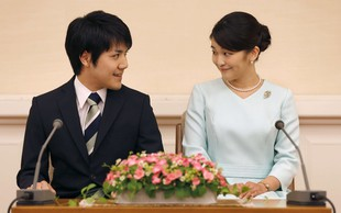 Japonska princesa Mako se bo poročila leta 2018!