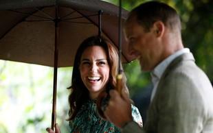 Vroča novica iz palače! Britanski princ William in Kate pričakujeta tretjega otroka