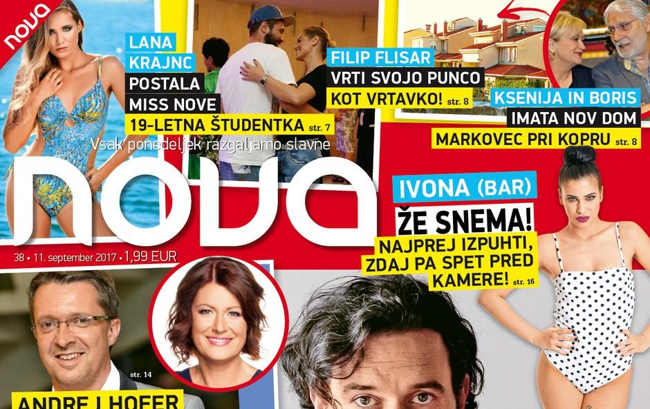 Šok za gledališčnike: Ukinili predstave Gašperja Tiča! Več v novi Novi! (foto: Revija Nova)