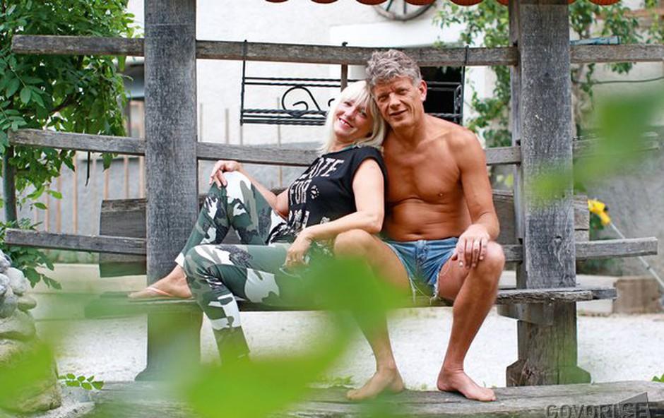 Miran in Marina: praznovala sta prvo obletnico (foto: Goran Atley)