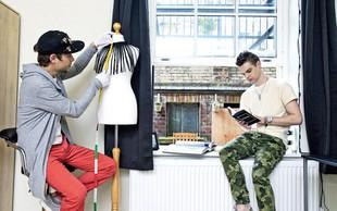 Marjan Krnjič in Jožef Sraka: Priprave na modni šov