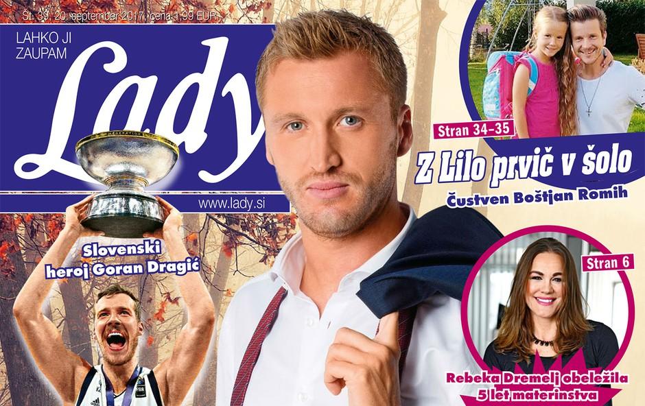 Denis Avdić si želi še dva otroka! Več v novi Lady! (foto: revija Lady)