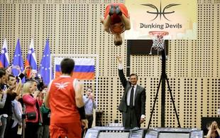 Dunking Devils od Boruta Pahorja prejeli Jabolko navdiha