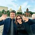 Manca in Benjamin Izmajlov rojstni dan praznovala v Rusiji