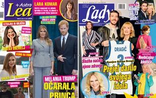 Lady: Ganjen Goran Dragić prejel darilo svojega idola! Lea: Melania Trump očarala princa Harryja!