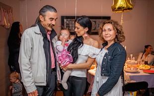 Iris Mulej na hčerkinem praznovanju po 10 letih videla očeta