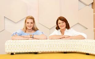 Katja in Neja Tratnik: Kot mama in hči iz znane nanizanke