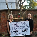 10. oktober - mednarodni dan brezdomcev (foto: Humanitarček Press)