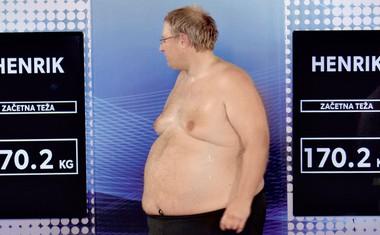 Govori se o ljubezni med Indiro in Henrikom v šovu The Biggest Loser Slovenija!
