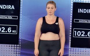 Indira Ekić želi s preobrazbo bivšemu pokazati, kaj je izgubil