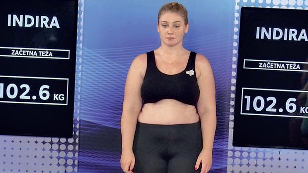 Indira Ekić in njena neverjetna preobrazba - poglejte, kako je videti danes! (foto: Planet Tv)