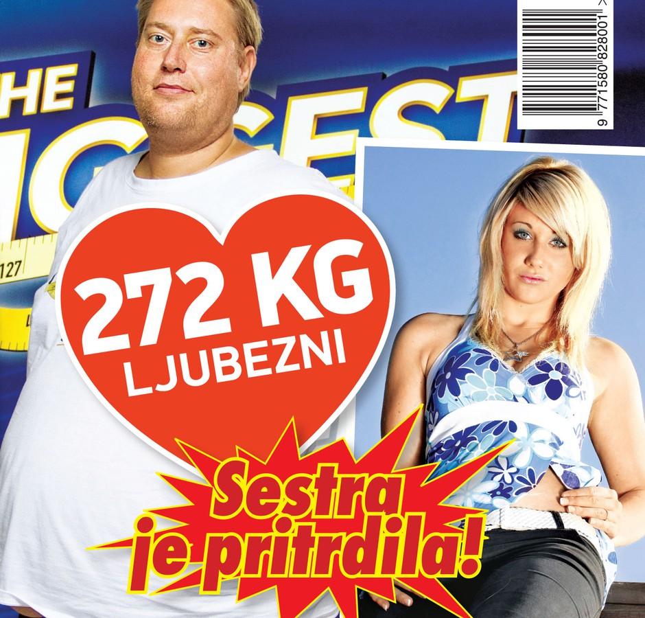 Govori se o ljubezni med Indiro in Henrikom v šovu The Biggest Loser Slovenija! (foto: Nova)