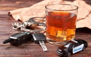 Novo mesto: Policisti so mu namerili kar 1,5 miligrama alkohola v litru izdihanega zraka!