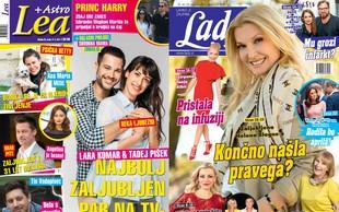 Je Helena Blagne končno našla pravega? Lara Komar in Tadej Pišek: Najbolj zaljubljen par na TV-zaslonih! Več v Lady in Lei!