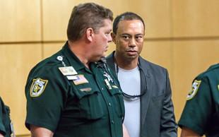 Tiger Woods se je izognil zaporni kazni zaradi malomarne vožnje!
