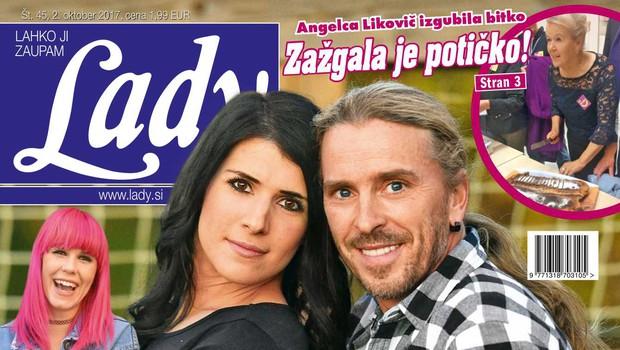 Marjan Novina priznava: Brez Petre ne bi zdržal! Več v novi Lady! (foto: Lady)