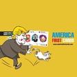 Klemen Slakonja na Kickstarter z zabavno igro s kartami America First Cards