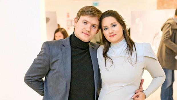 Slikar in oblikovalec Aleksander Legen predstavil umetniški projekt Krog (foto: Violeta Legen)