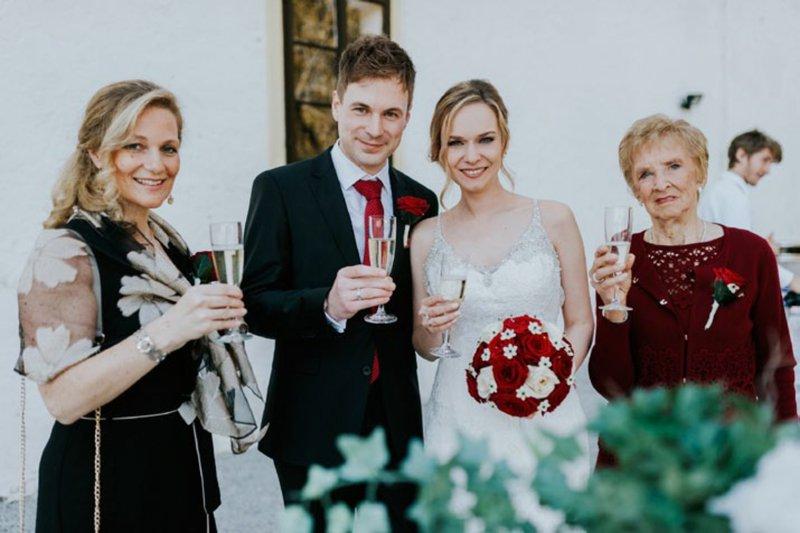 Jesenska poroka na gradu