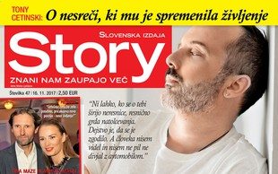 """Tony Cetinski: """"Resnično mi je težko!"""" Več v novi Story!"""