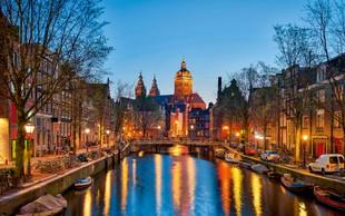 Amsterdam slovi po kanalih in družabnosti