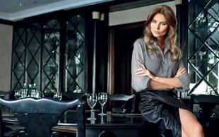 Marina Mirt - hrvaška dvojnica Melanie Trump