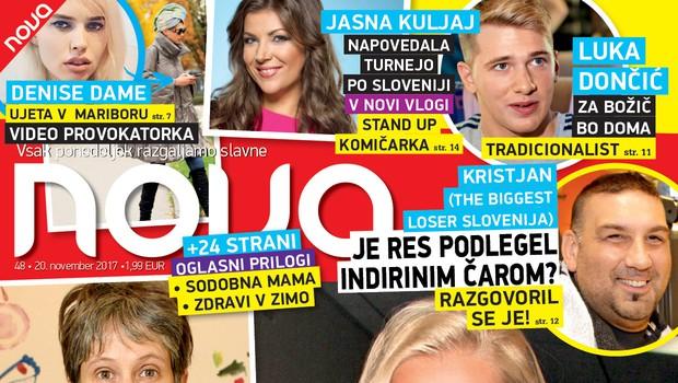 Nadiya Bychkova: Res omrežila poročenega? Več v novi Novi! (foto: Nova)