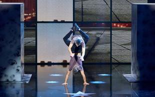 Slovenska akrobata navdušila Hrvate in čakata na klic iz Amerike!