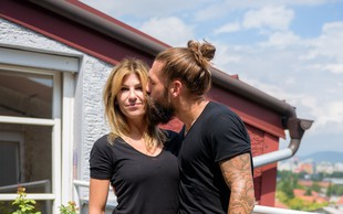 Luka Majcen živi s svojo partnerko odštekano življenje!