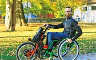 Gal Jakič: Vsakdanjika si brez vozička ne predstavlja več