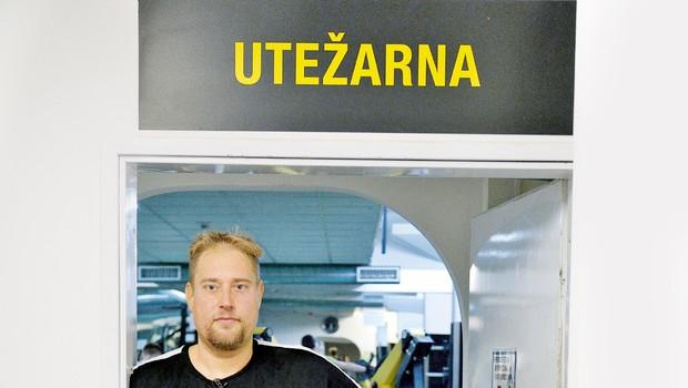 Henrik Lutz zaradi šova The Biggest Loser Slovenija jezen na Planet TV (foto: Primož Predalič)
