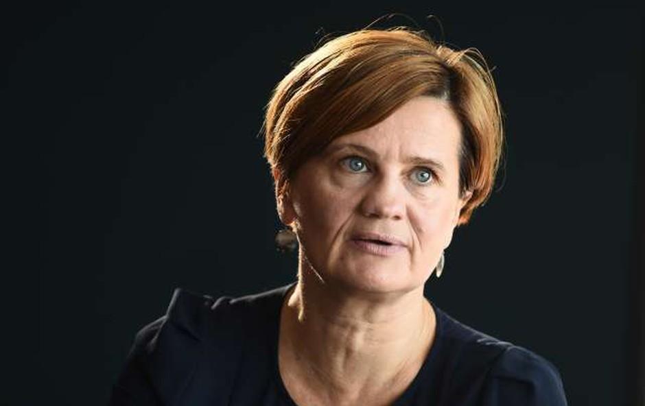 Književna nagrada modra ptica za roman Pogodba Mojce Širok (foto: Tamino Petelinšek/STA)